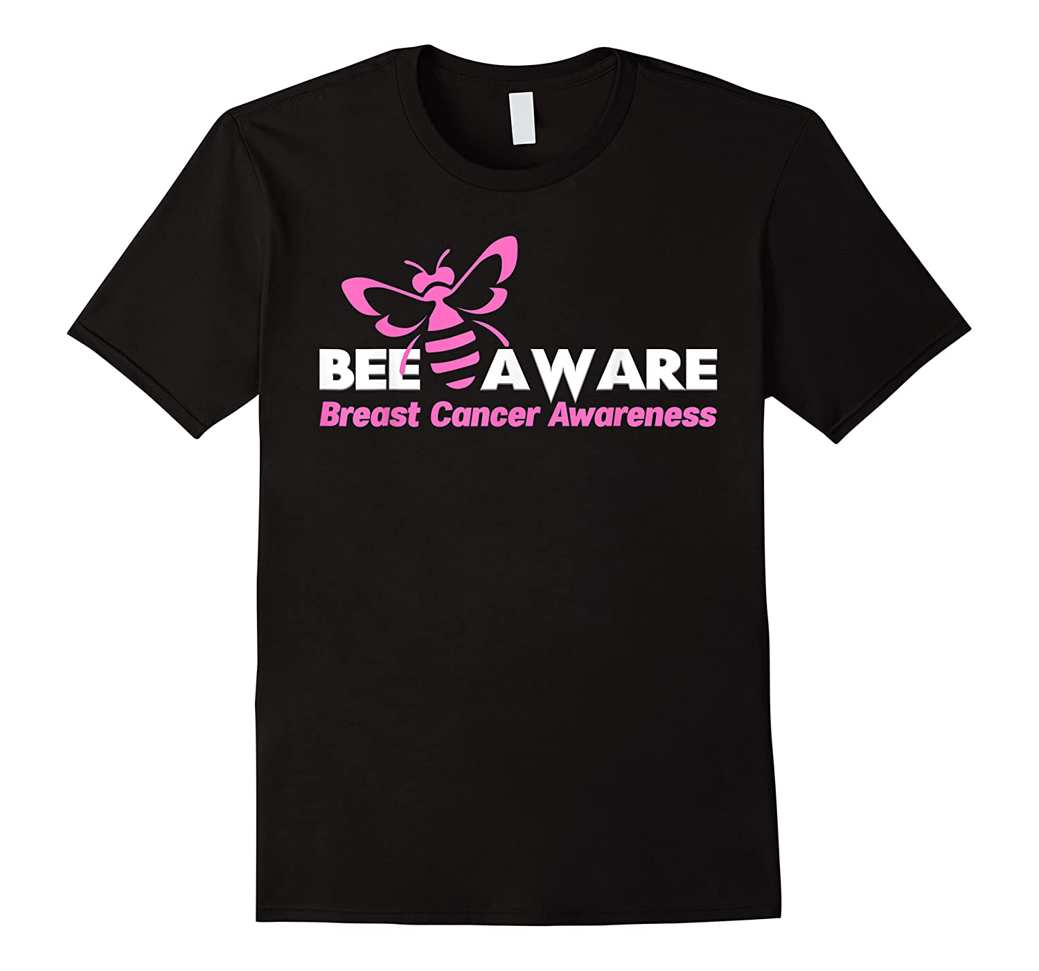 Bee Aware October Is Breast Cancer Awareness Month T Shirt T Shirt