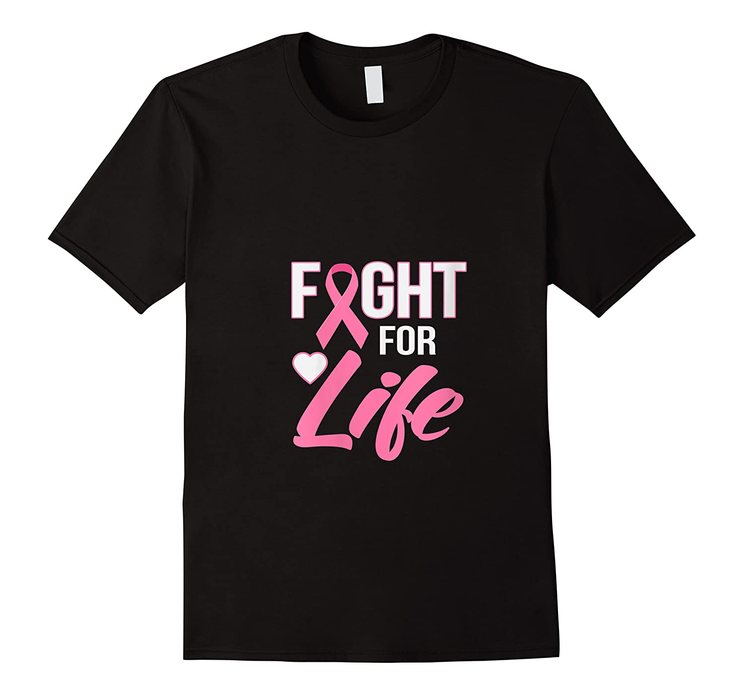 Breast Cancer Awareness Month Gift Fight For Life Warrior T Shirt