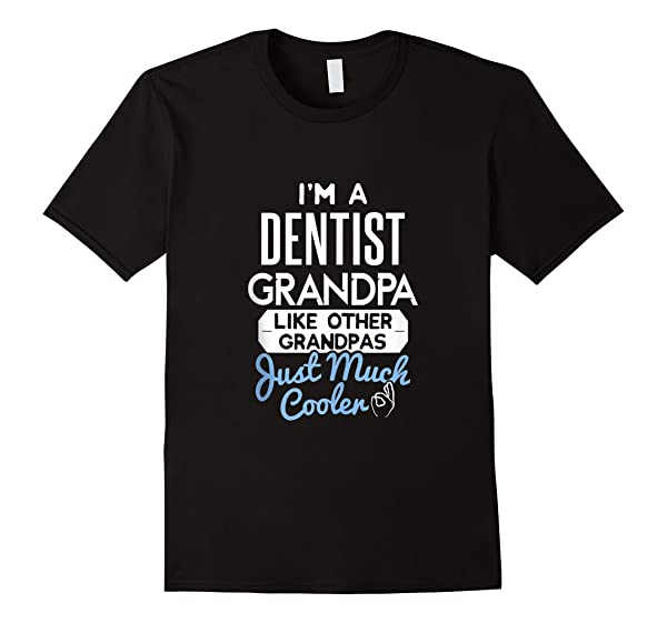 S Cool Dentist Grandpa Fathers Day Gift Tank Top Shirts