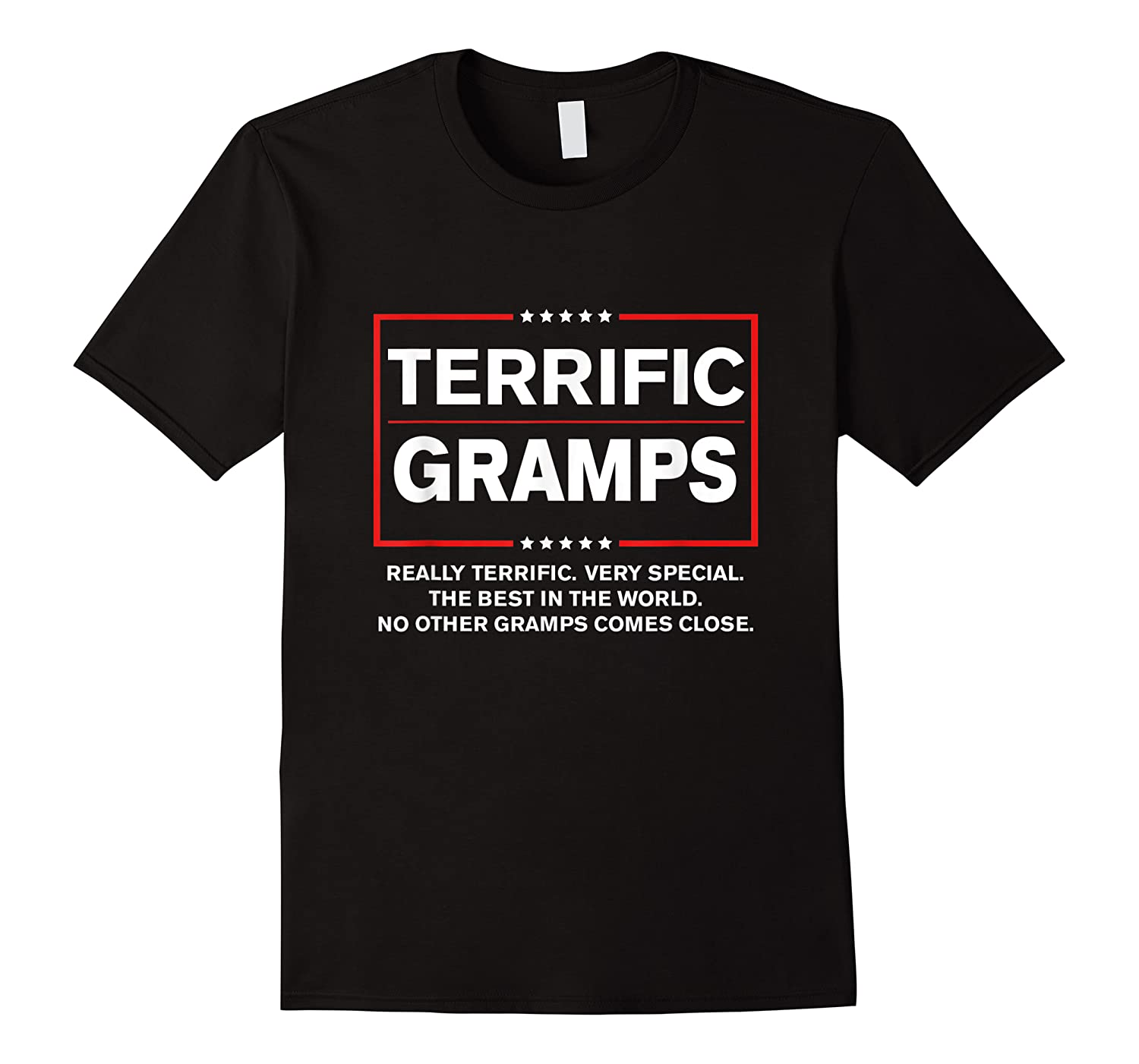 Donald Trump Fathers Day Gift For Gramps Funny Campaign Sign T Shirt