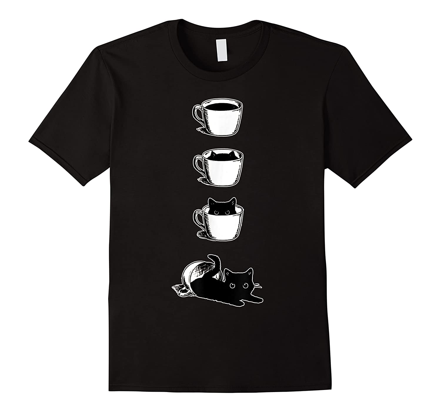 Cat In The Cup Funny Cat Lover Gifts Shirts
