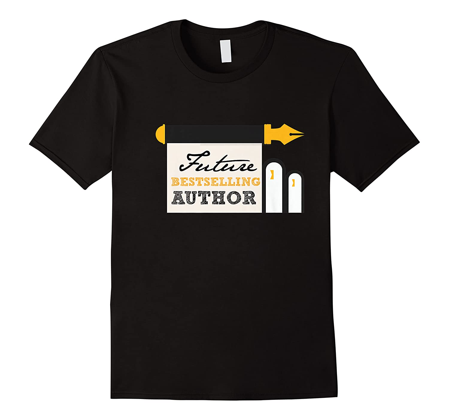Funny Future Best Selling Author Writer Librarian Book Gift Premium T Shirt