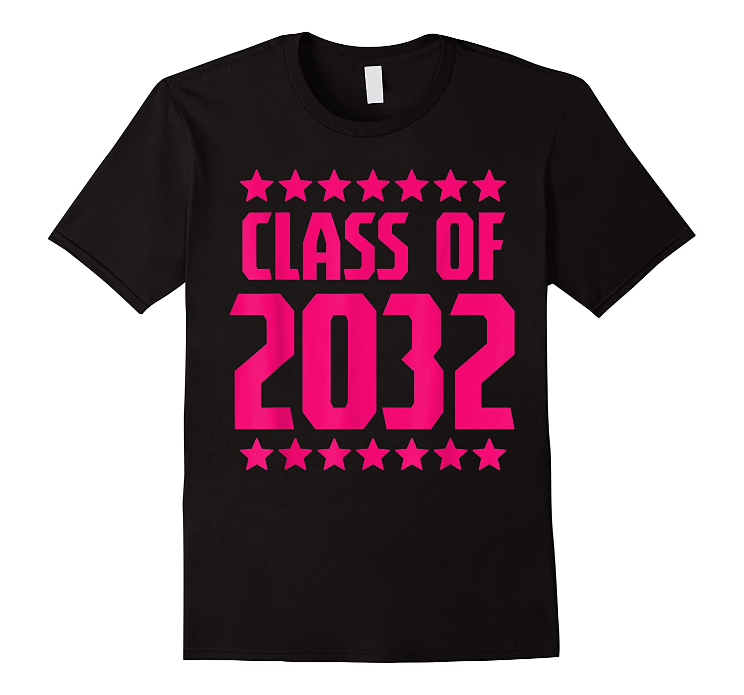 Class Of 2032 Stars Grow With Me First Day Kindergarten Gift T-shirt