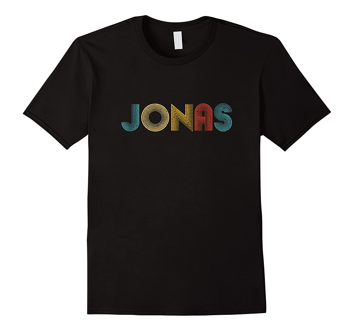 Jonas First Given Name Pride Vintage Distressed Tank Top Shirts
