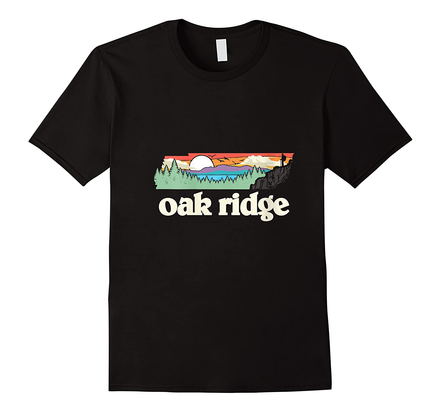 Oakland Tennessee Outdoors Retro Nature Graphic T-shirt