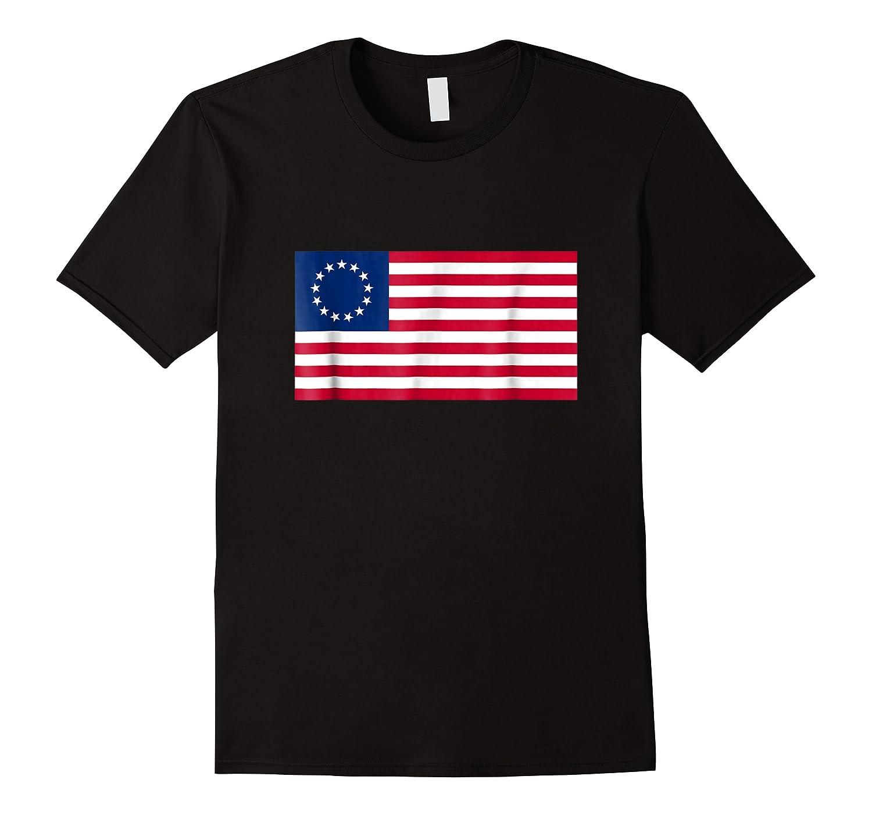 Betsy Ross Flag Usa T Shirt