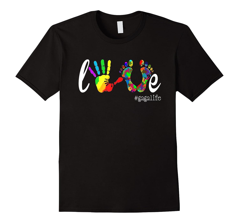 Colorful Love Gaga Life T Shirt