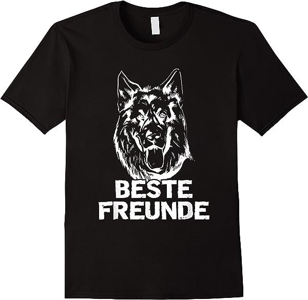 Ich Und Mein Deuts Schäferhund Beste Freunde Hunde T-shirt