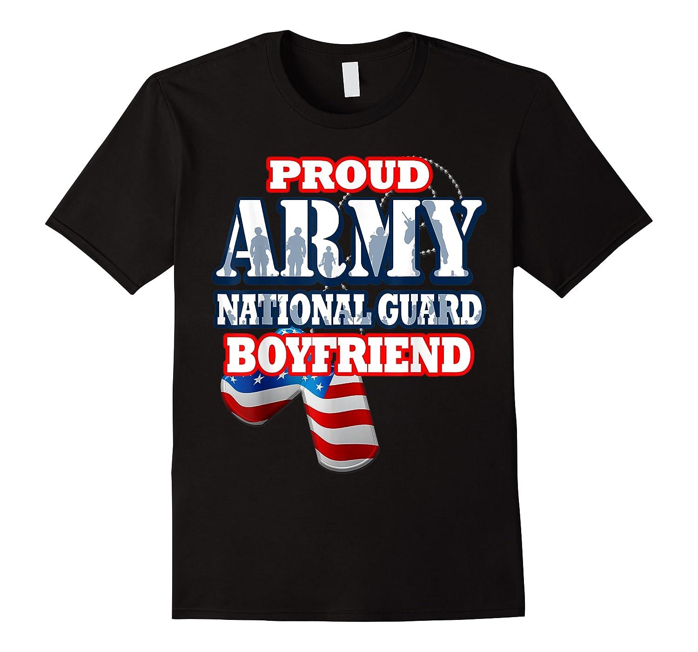 Proud Army National Guard Boyfriend Men Shirts