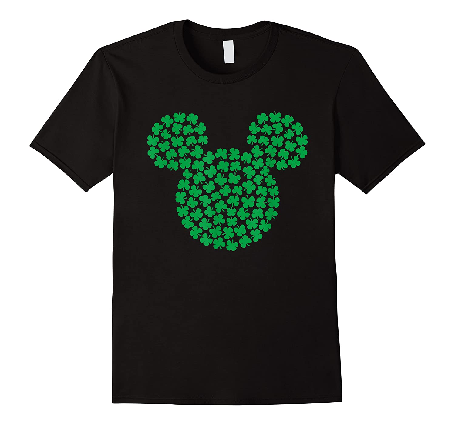 Disney Mickey Mouse Green Clovers St Patrick S Day T Shirt