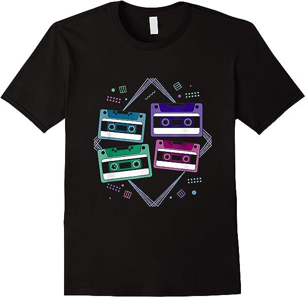 Vintage 80er Kasetten 1980 T-shirt