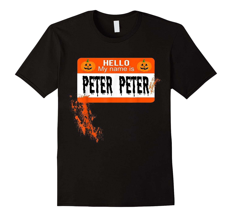 Peter Peter Pumpkin Eater Halloween Couples Costume Shirts
