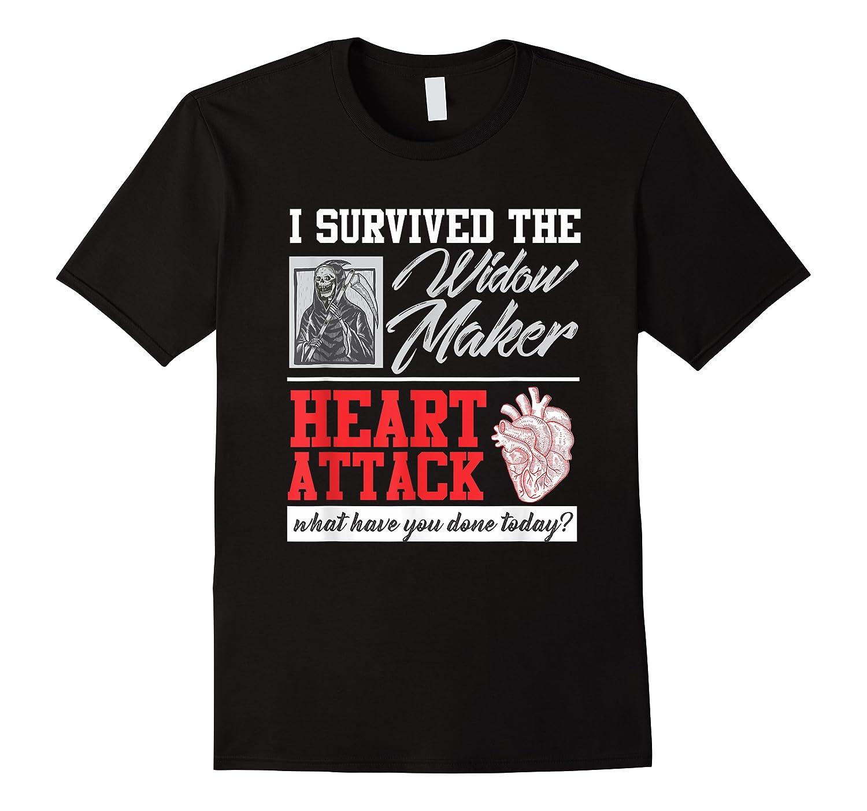 Open Heart Surgery Survivor Widow Maker Heart Attack Shirts