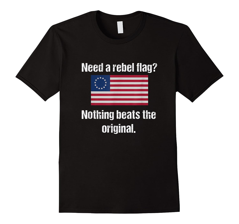 The Original Rebel Colonial Flag T Shirt