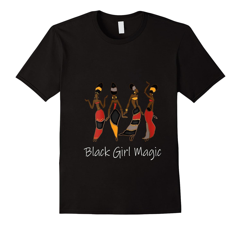 Black Girl Magic Queen Melanin African American T-shirt