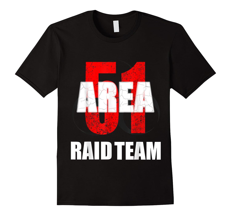 Area 51 Raid Team Shirts
