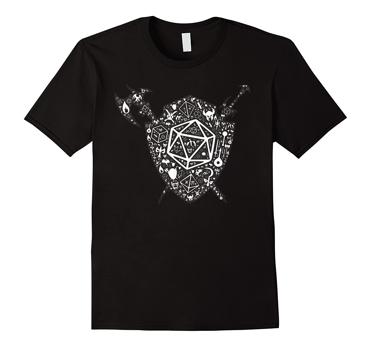 Dragons Dnd Fighter Dungeons Icon Art Tabletop Birthday Gift Shirts
