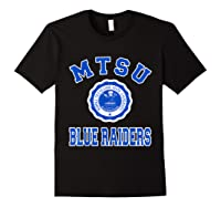 Middle Tennessee State 1911 University Apparel T Shirt Black