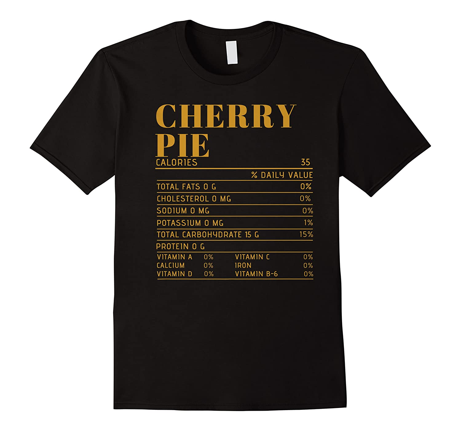Ry Pie Nutrition Facts Gift Funny Thanksgiving Costume Shirts