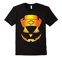 Scary Halloween T Shirt For Nurses Black