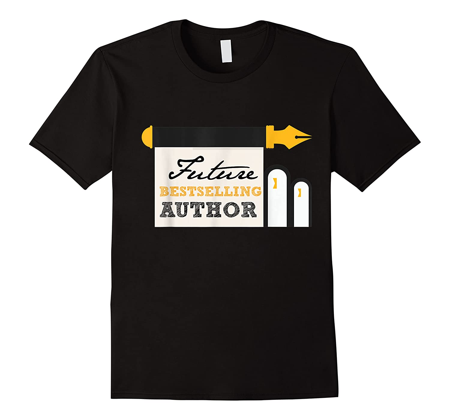 Funny Future Best Selling Author Writer Librarian Book Gift T Shirt