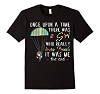 Once Upon A Time There Was A Girl Who Really Loves Books Ts Shirts Black