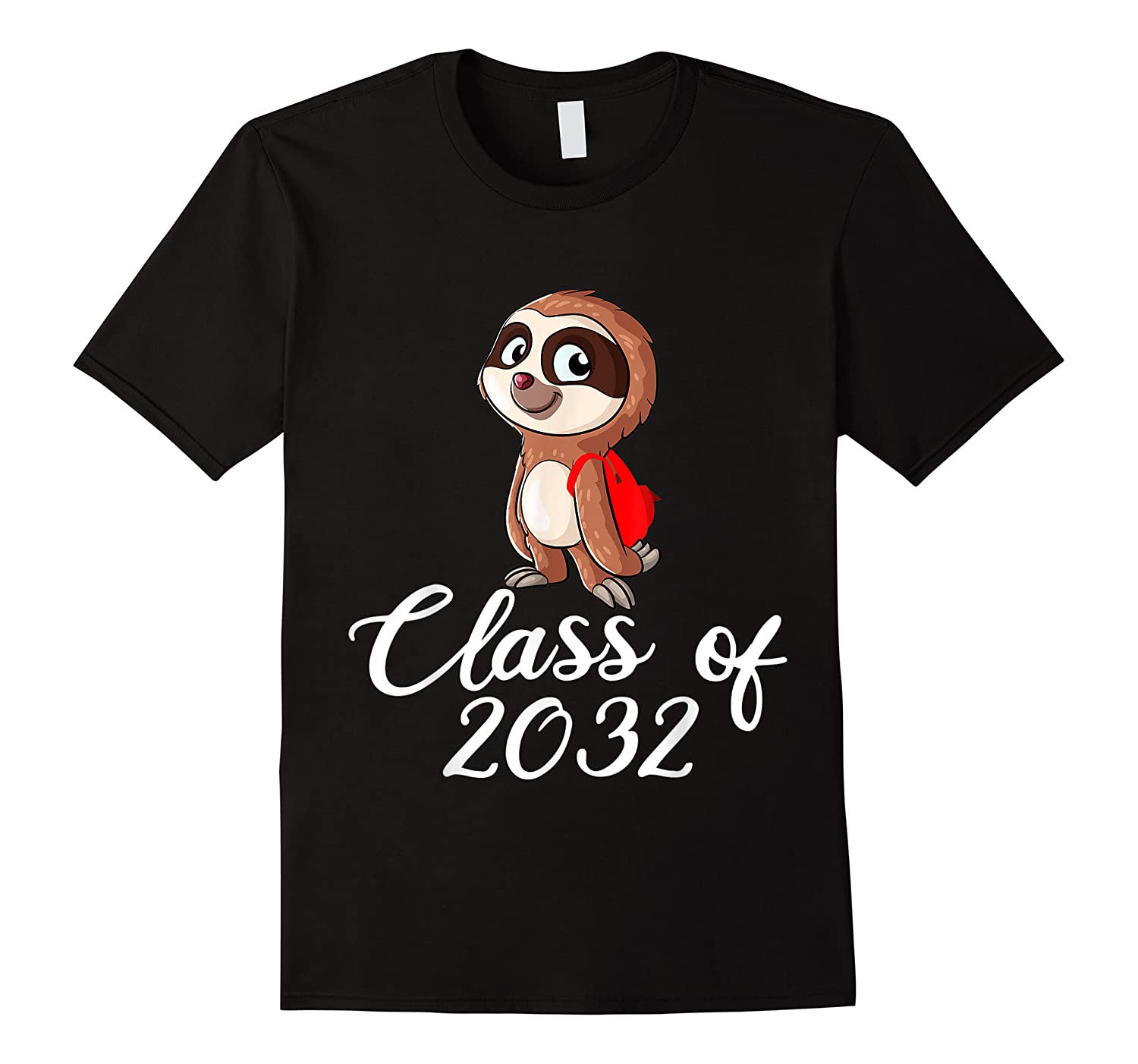 Sloth Class Of 2032 Back To School Gift Shirts