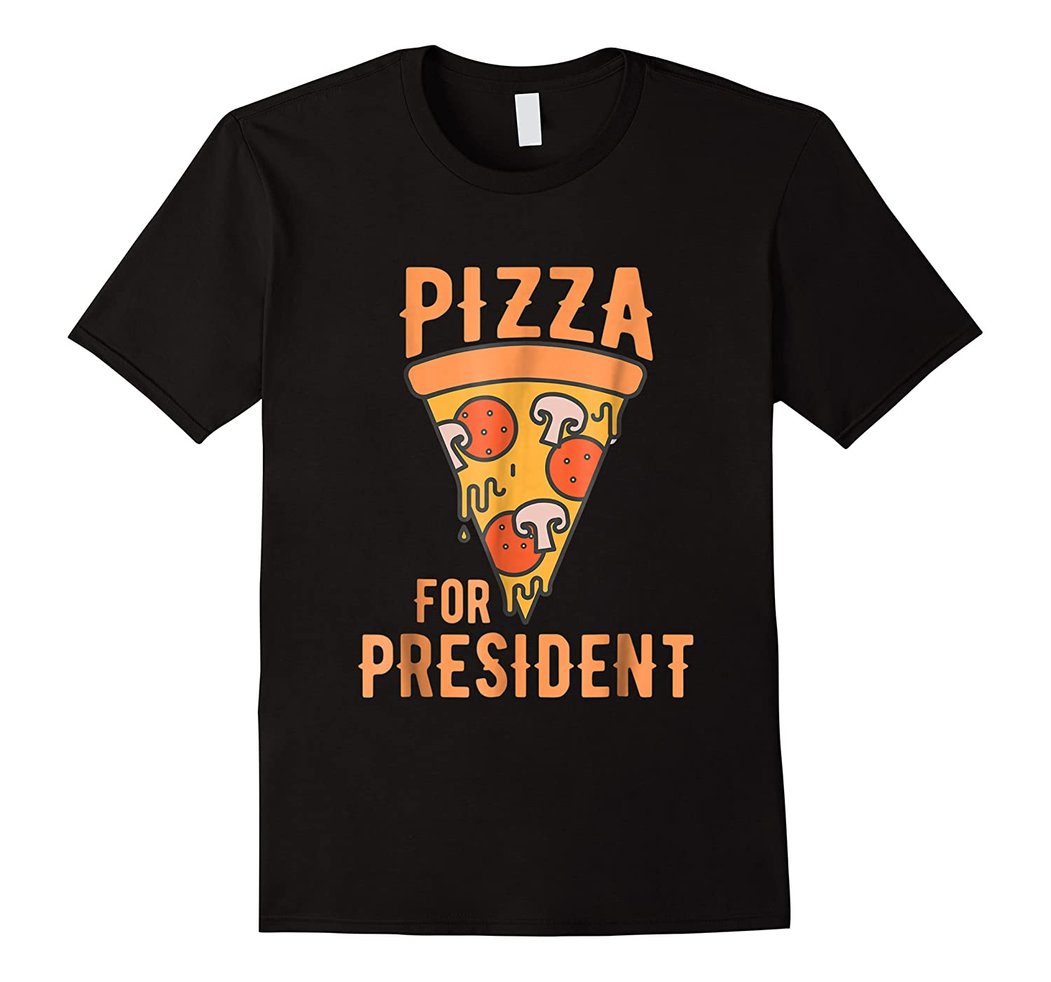 Impeach Trump Pizza For President Pizza Lovers T Shirt