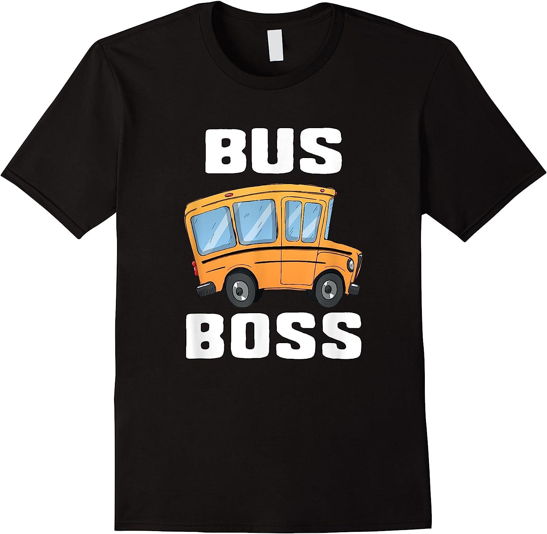 Funny Bus Boss School Bus Driver T-shirt Job Career Gift