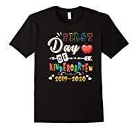 First Day Of Kindergarten Cute Gift For Teas Shirts Black