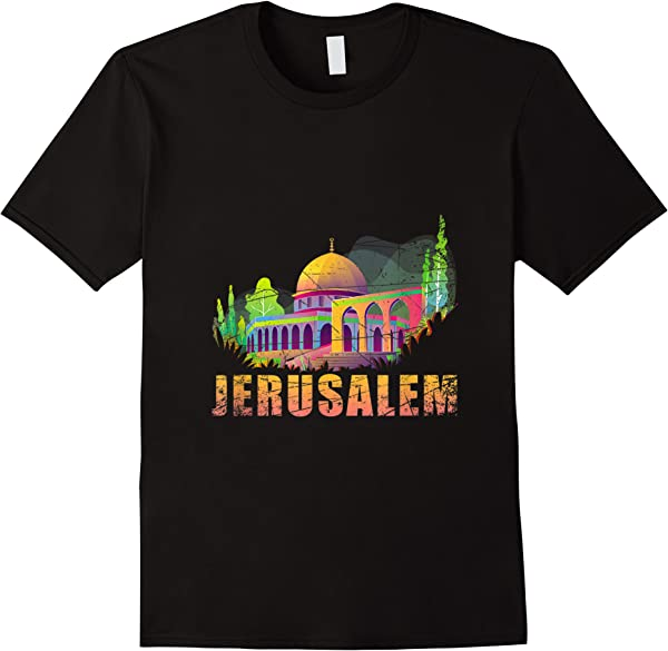 Jerusalem Israel T-shirt