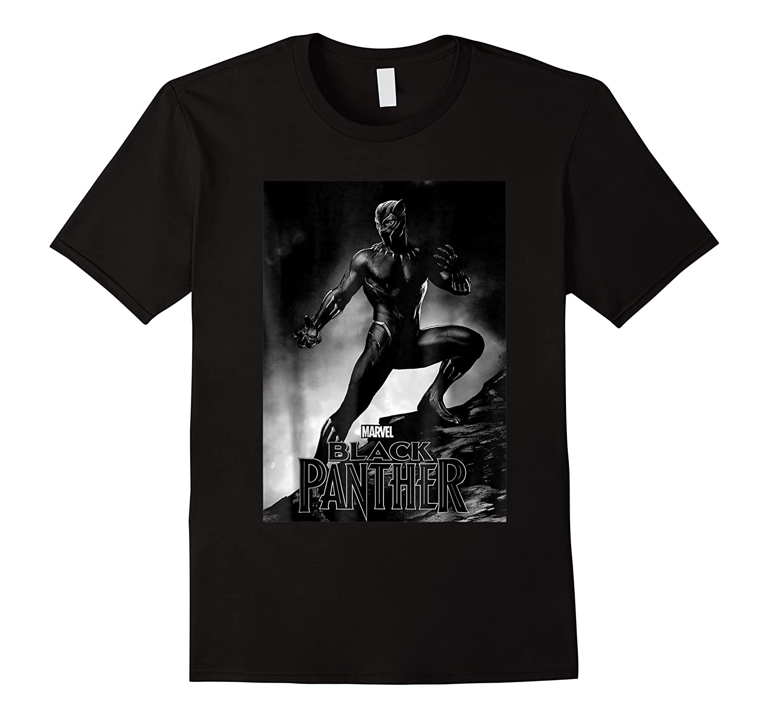 Black Panther Movie Shadow Cliff Stance Shirts