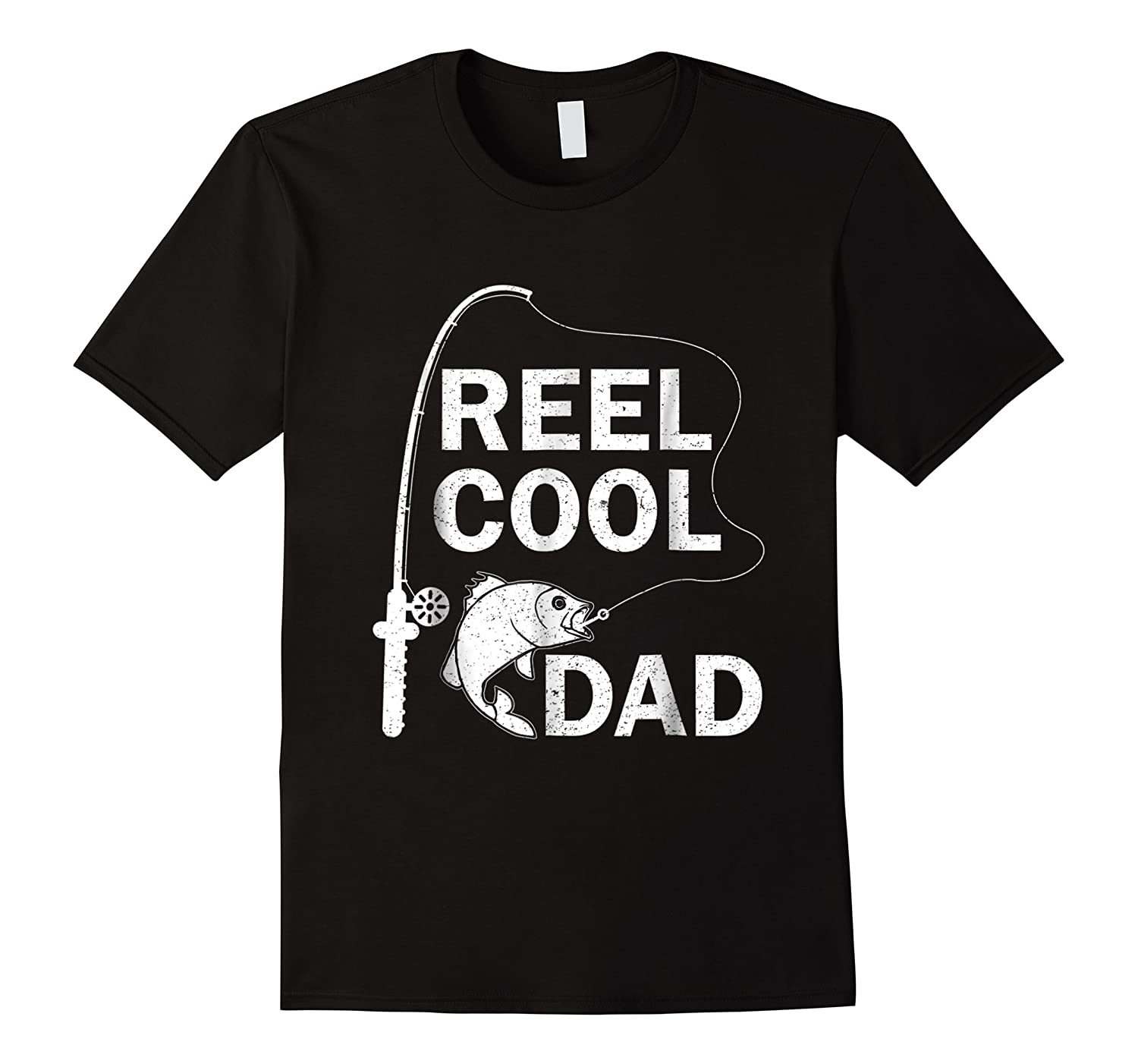 Reel Cool Dad Daddy Fathers Day Father Fishing Fisherman Ts Shirts