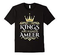 Kings Are Named Ameer T-shirt Black