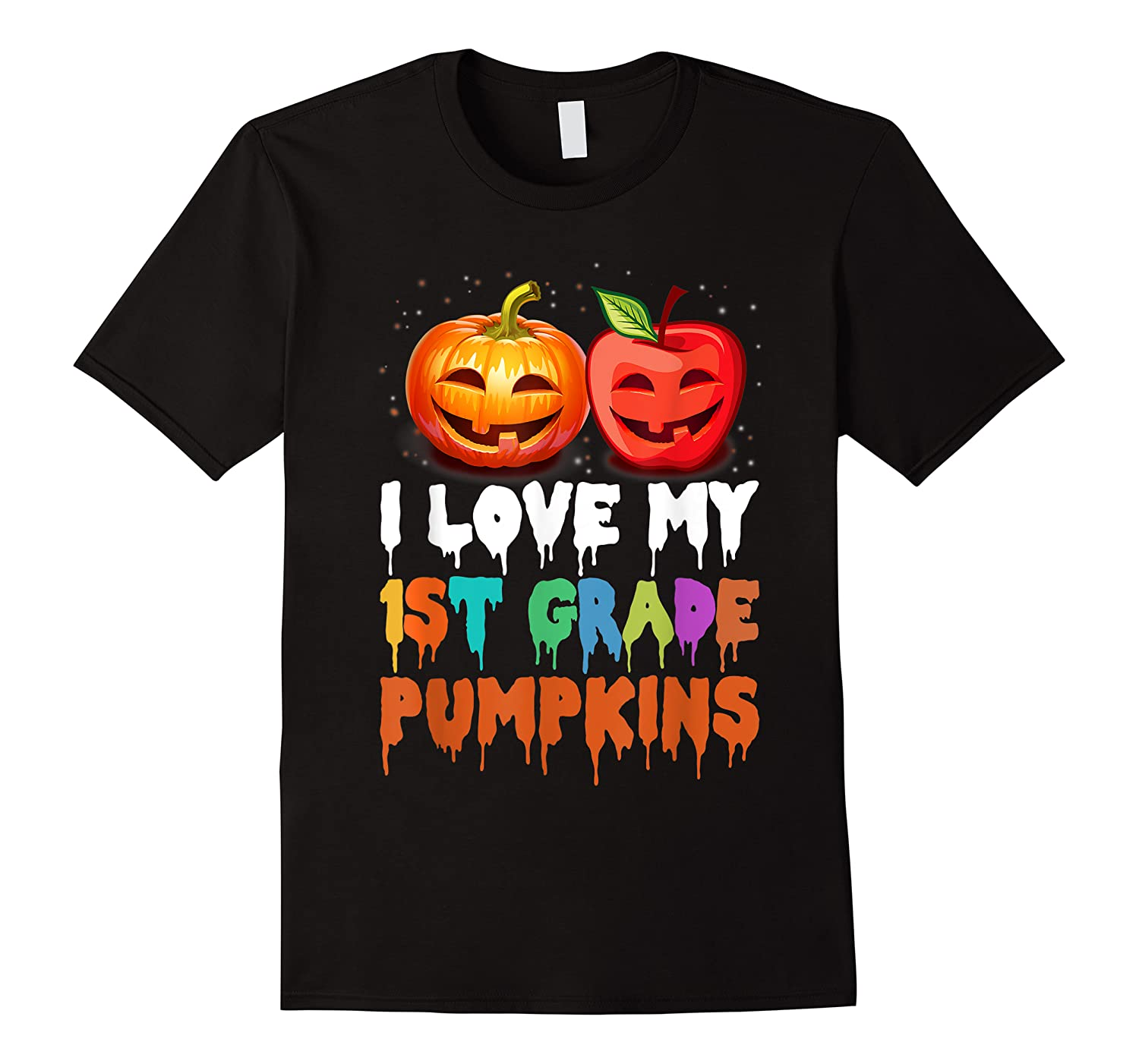 Love My 1st Grade Pumpkins Halloween Shirts