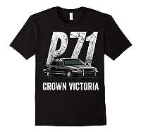 Police Car Crown Victoria P71 Shirt Black