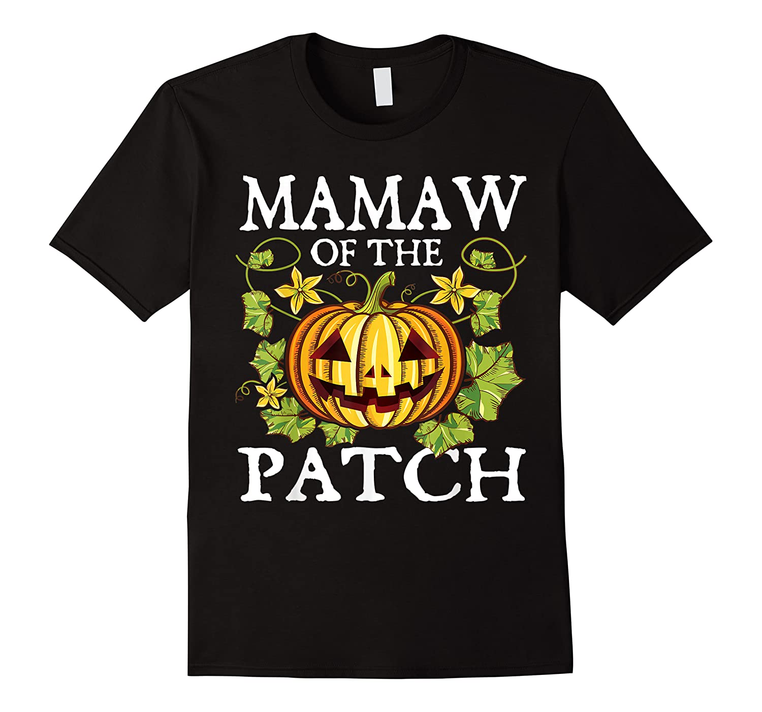 Mamaw Of The Patch Pumpkin Halloween Costume Gift Shirts