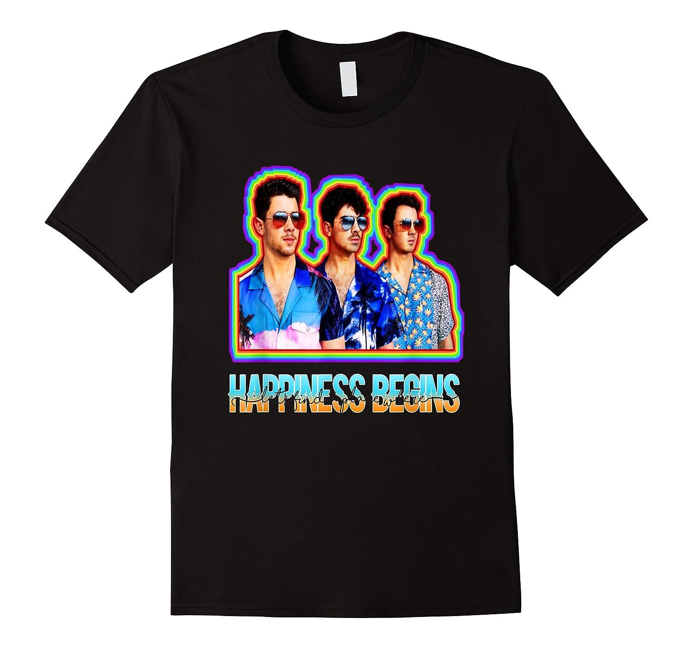 Happiness Begins Tour Music T Shirt Cool Jonas Shirt T Shirt