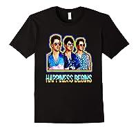 Happiness Begins Tour Music T Shirt Cool Jonas Shirt T Shirt Black
