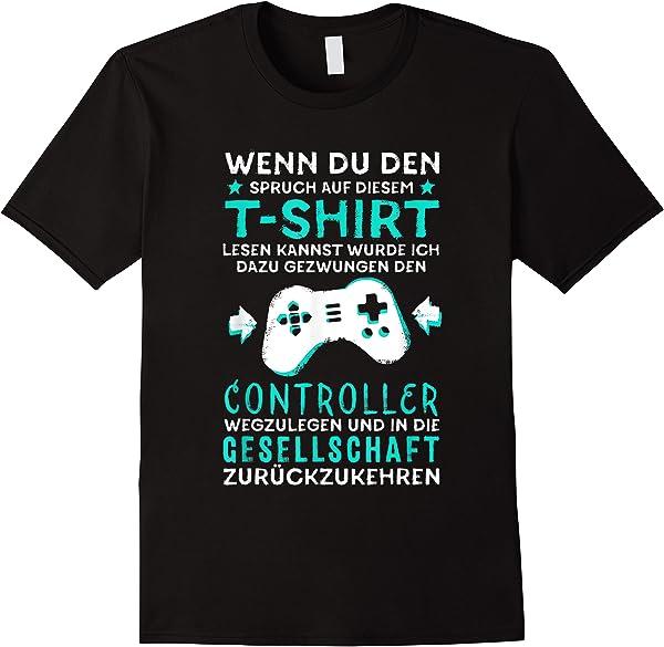 Geburtstag Junge Männer Teenager Zocker Geschenk Gamer T-shirt