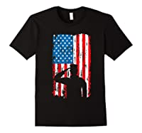 Veteran S Day Patriotic Usa Flag We Salute You Veterans T Shirt Black