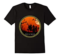 Friends Horror Scary Halloween T Shirt For Black