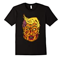 Cool And Creative Zombie Donald Trump T-shirt Black