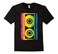 Cassette Tape 80s 90s Vintage Retro Funny Halloween Shirts Black