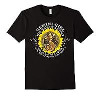 Gemini Girl The Soul Of A Mermaid Tshirt Birthday Gifts Black