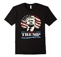 Us Patriot Republican Trump Supporter Presidential Election T Shirt Black