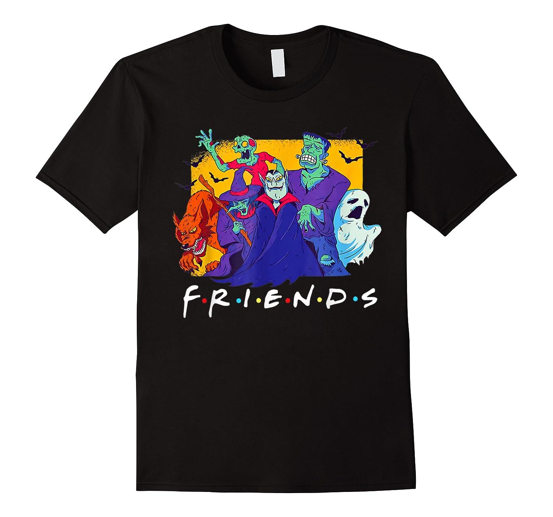 Friends Halloween Horror T Shirt