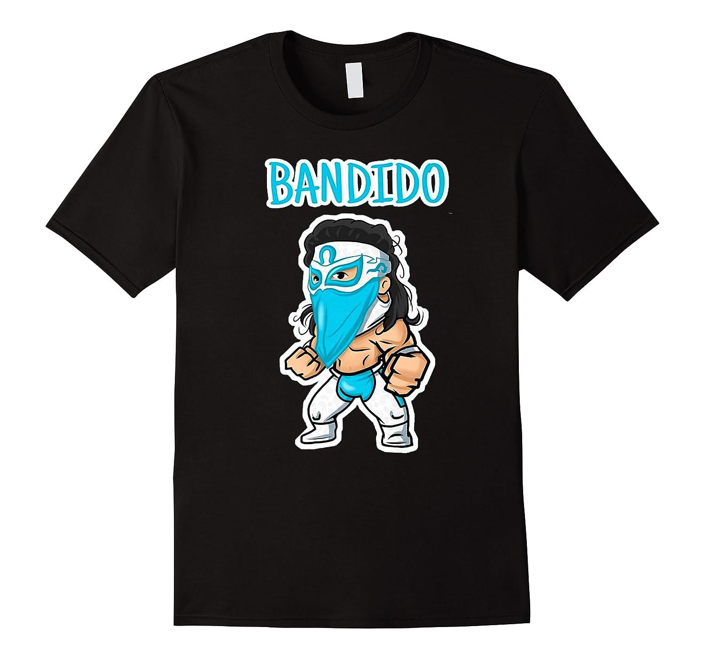 Feel Ink Bandido Bandit Lucha Libre Mexican Pro Wrestler Premium T Shirt