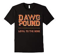 Dawg Pound Shirt Loyal Bone T-shirt Black
