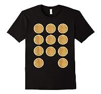 Eleven 11 Waffles T Shirt Tee Black